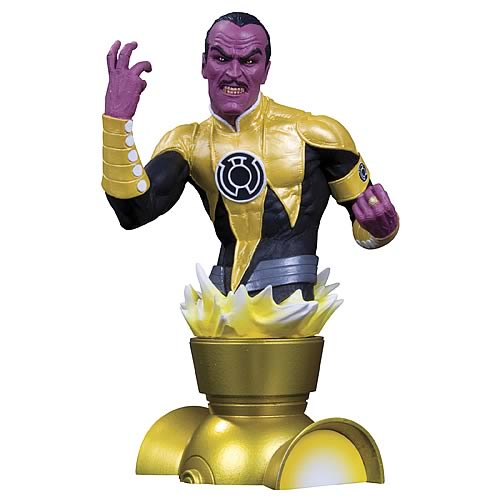 Heroes of the DC Universe Series 2 Sinestro Bust | Gifts For A Geek and Toys