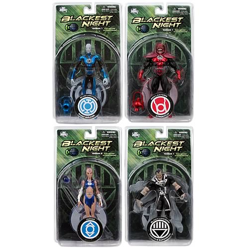 Blackest Night  Action Figure Restock Set
