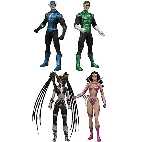 Green Lantern Blackest Night Series 6 Action Figure Set