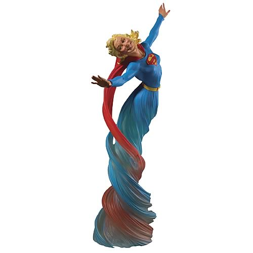 Dc dynamics supergirl statue limited edition sculpture