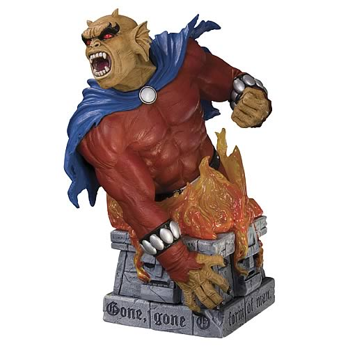 Heroes of the DC Universe Etrigan the Demon Bust