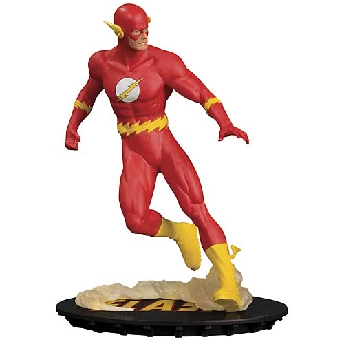 Dc Chronicles The Flash Statue Dc Collectibles Flash