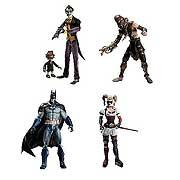 Batman Action Figures Arkham Asylum Series 1 Set