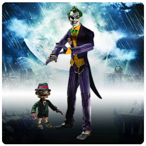 Batman Arkham Asylum Joker with Scarface Action Figure