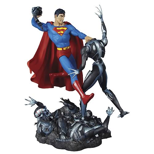 Superman vs. Brainiac Statue Limited Edition Sculpture
