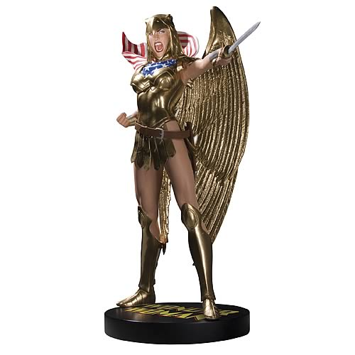 Cover Girls of the DC Universe Wonder Woman Armored Statue