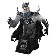 Heroes of the DC Universe Black Lantern Batman Bust