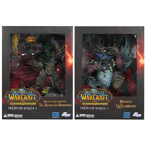 World of Warcraft Premium Series 4 Action Figure Set