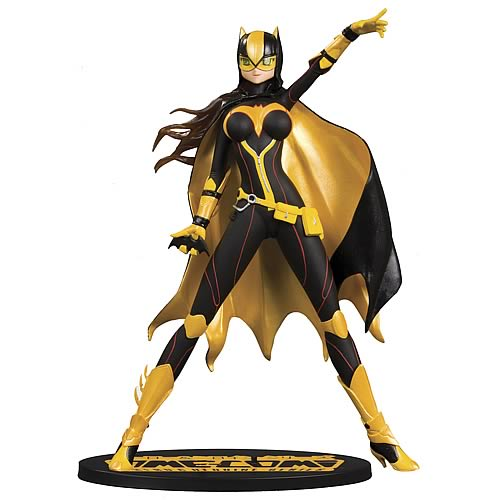 Ame Comi Batgirl Version 1 Black Suit Variant Figure Statue