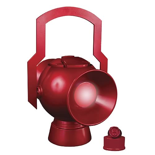 JLA Trophy Room Red Lantern Battery Prop Replica