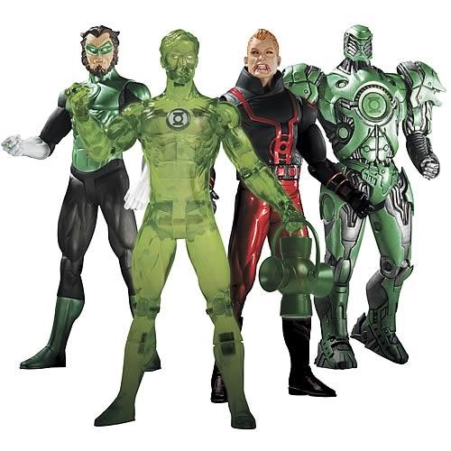 Green Lantern Series 4 Action Figure Set