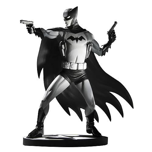 batman black and white cliff chiang statue dc