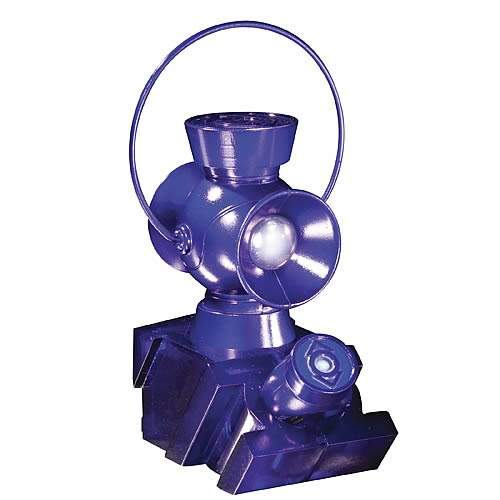 Indigo Lantern 1:4 Scale Power Battery and Ring Prop Replica