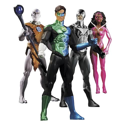 Green Lantern Blackest Night Action Figure Box Set