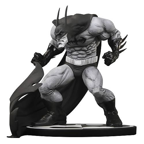 Batman Black and White Sam Kieth Statue