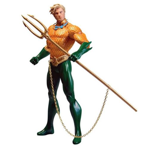 Justice League New 52 Aquaman Action Figure, Not Mint