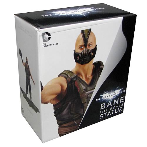 Batman Dark Knight Rises Bane 1:12 Scale Statue
