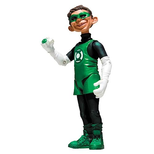 Just-Us-League Stupid Heroes Series 2 Green Lantern Figure