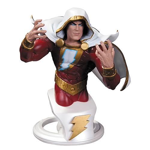 DC Comics New 52 Superheroes Shazam Bust