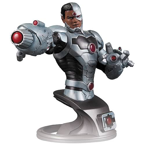 Justice League New 52 Cyborg Bust