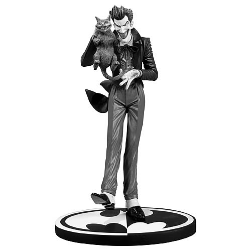 Batman Black and White Joker Brian Bolland Statue