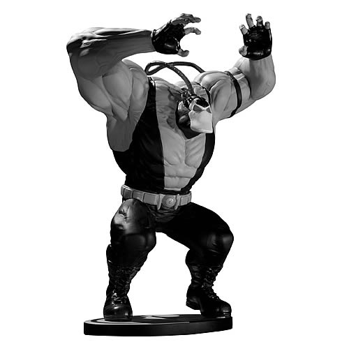 Batman Bane Black and White Kelley Jones Statue