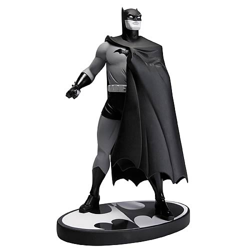 Batman Black and White Darwyn Cooke Statue