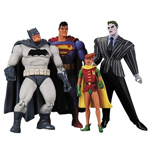 Batman Dark Knight Returns Action Figure Box Set 4-Pack
