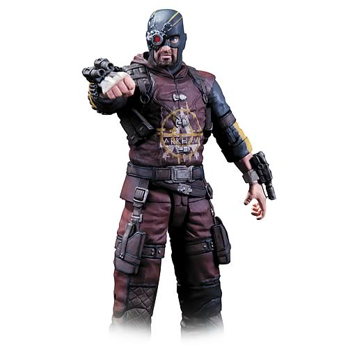 Batman Arkham City Series 4 Deadshot Action Figure