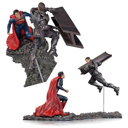 Superman Man of Steel Movie Superman vs. Zod Statue