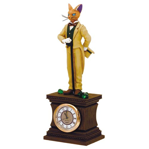 Whisper of the Heart Baron on Clock Diorama Statue