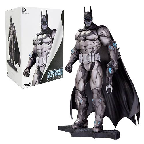 Batman Arkham City Armored Batman 10 1/4-Inch Statue