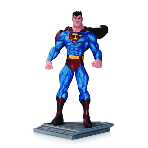 Superman the Man of Steel by Ed McGuinness Statue