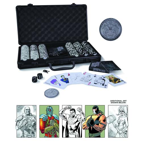 dc Comics Super Villains Poker