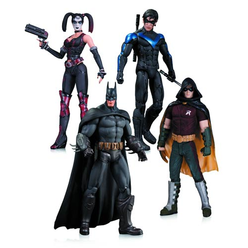 Batman Arkham City Action Figure 4-Pack