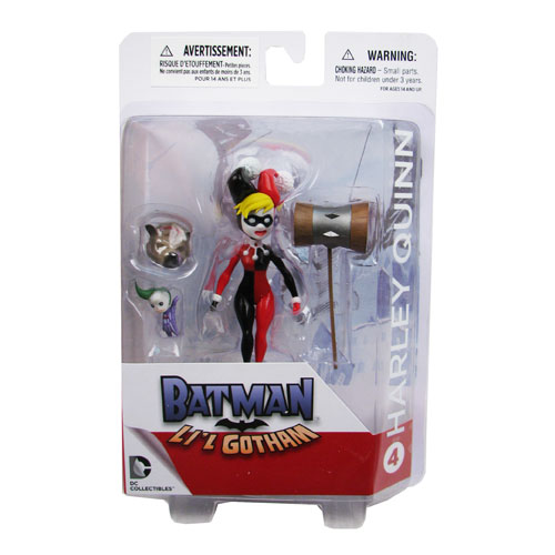 Batman Lil Gotham Harley Quinn Mini Action Figure