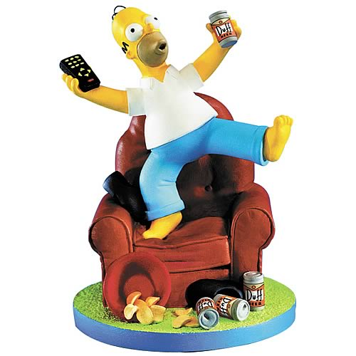 The Simpsons Homer Woo-Hoo Statue