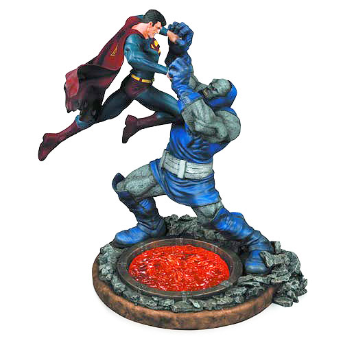 Superman vs. Darkseid 2nd Edition 12 1/2-Inch Statue - DC ...