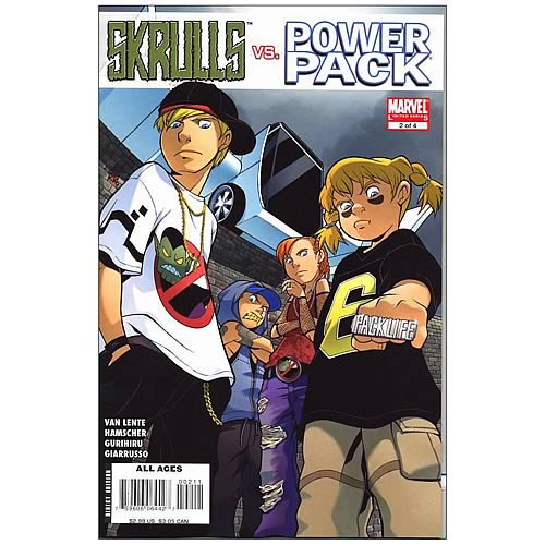 Skrulls vs. Power Pack Digest Graphic Novel