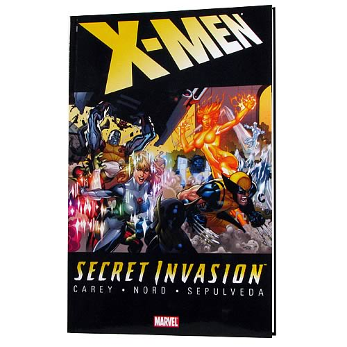 Secret Invasion X-Men Graphic Novel