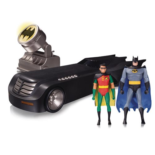 Batman: The Animated Series Deluxe Batmobile with Lights