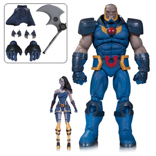 DC Icons Darkseid and Grail Deluxe Action Figure 2-Pack