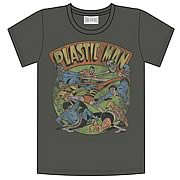 Plastic Man All Tied Up Charcoal T-Shirt