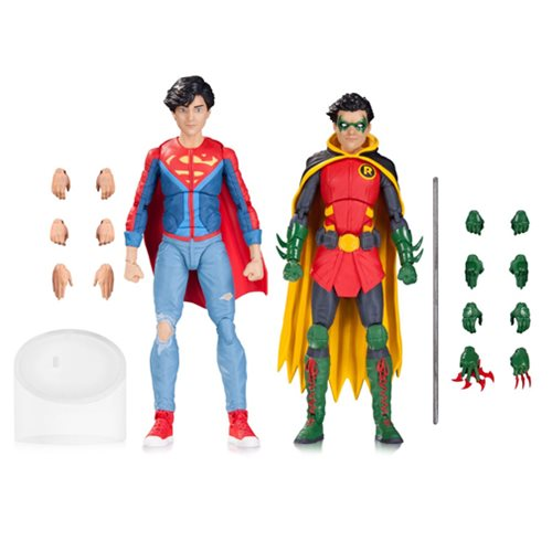 DC Icons Robin and Superboy Action Figure 2-Pack