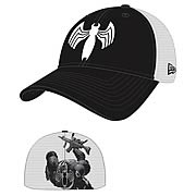 Spider-Man Venom Heromesh New Era Stretch Fit Hat