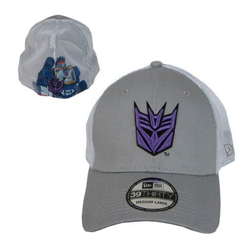Transformers Soundwave Heromesh New Era Stretch Fit Hat