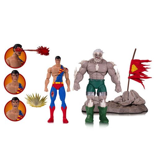 DC Icons Death of Superman Deluxe Action Figure 2-Pack