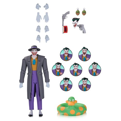 Batman: TAS The Joker Action Figure with Expressions Pack