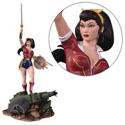 DC Bombshells Wonder Woman Deluxe Statue