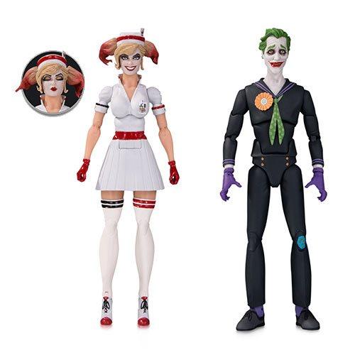 Картинки по запросу DC Comics Designer Series Figures - Bombshells Nurse Harley & Joker 2-Pack